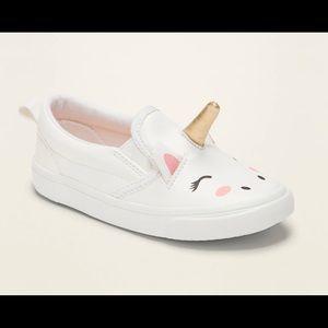 Slip-Ons For Toddler Girls Unicorn